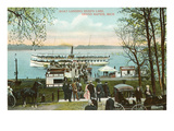 Boat Landing, Grand Rapids, Michigan Poster