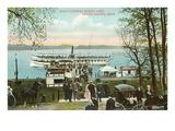 Boat Landing, Grand Rapids, Michigan Poster