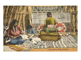 Navajo Rug Weavers, New Mexico Prints