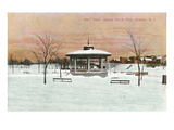 Bandstand, Branch Brook Park, Newark, New Jersey Prints