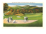 Lake Lure Golf Course, North Carolina Posters