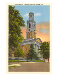 Baptist Church, Winston-Salem, North Carolina Poster