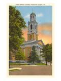 Baptist Church, Winston-Salem, North Carolina Print