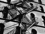 Fire Escapes and Shadows, New York, 1944 Photographie par Brett Weston