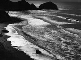 Beach Waves Photographic Print by Brett Weston