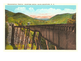 Frankenstein Trestle, Crawford Notch, New Hampshire Poster