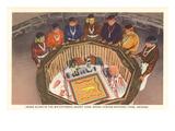 Snake Altar, Sand Painting, Navajos Prints