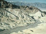Zabriskie Point Badlands Photographic Print by Tom Bean