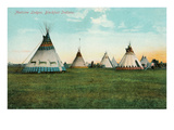 Blackfoot Medicine Lodges Prints