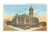 Federal Building, Post Office, Omaha, Nebraska Prints