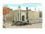 Minnesota Theater, Minneapolis, Minnesota Art