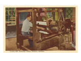 Loom, Greenfield Village, Dearborn, Michigan Posters