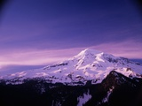 Mount Rainier Photographic Print by Charles Mauzy