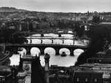 River Seine and Paris Photographic Print by Peter Turnley