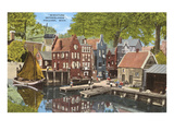 Miniature Netherlands, Holland, Michigan Poster