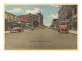 Broadway, Billings, Montana Poster