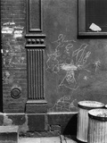 Graffiti, Manhattan, 1944 Photographic Print by Brett Weston