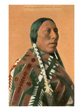 Man-Going-Uphill, Arapaho Indian Prints