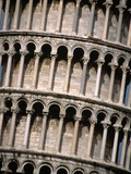 Arcades of the Leaning Tower of Pisa Photographic Print by John Heseltine