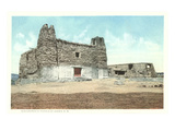 Old Church, Acoma Pueblo, New Mexico Print