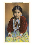 Silversmith's Daughter, Navajo Girl Posters