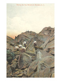 Near Peak of Monadnock Mountain, New Hampshire Posters