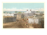 Isleta Pueblo, New Mexico Prints