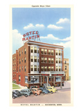 Hotel Martin, Rochester, Minnesota Prints