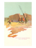 Astufa, Council Chambers, Isleta, New Mexico Poster