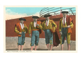 Bullfighters, Tijuana, Mexico Print