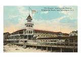 Hôtel Oceanic, Wrightsville Beach, Caroline du Nord Affiche