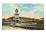Oceanic Hotel, Wrightsville Beach, North Carolina Print
