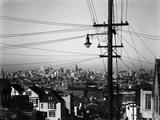 San Francisco, 1939 Fotografisk tryk af Brett Weston