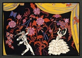 The Flamenco Framed Giclee Print by Georges Barbier