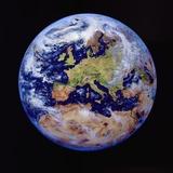 La Terra dallo spazio Stampa fotografica