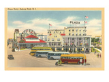 Plaza Hotel, Asbury Park, New Jersey Posters