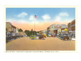Main Street, Forest City, North Carolina Prints