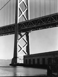 San Francisco-Oakland Bay Bridge by Brett Weston Fotografie-Druck von Brett Weston