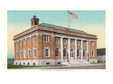 Post Office, Livingston, Montana Print