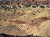 Hiker in the Badlands Photographic Print by Tom Bean