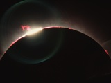 Solar Prominences and Diamond Ring Effect Photographic Print by Roger Ressmeyer