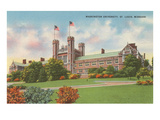 Washington University, St. Louis, Missouri Print