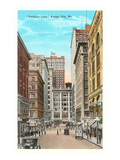 Petticoat Lane, Kansas City, Missouri Print