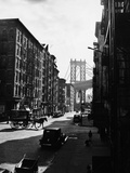 The Lower East Side in New York City Photographic Print