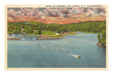 Hiwassee Lake, Murphy, North Carolina Posters