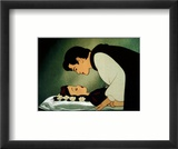 Love's First Kiss Print by Walt Disney