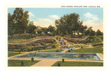 Rock Garden, Antelope Park, Lincoln, Nebraska Prints