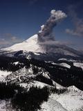 Jim Sugar - Mount St. Helens Erupts Fotografická reprodukce
