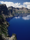 Blue Lake Water Photographic Print by Charles Mauzy