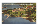 Wentworth by the Sea, New Castle, New Hampshire Print